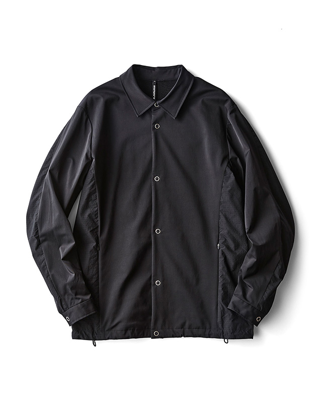 H.I.P. by SOLIDO | LUX NYLON TWILL COACH JACKET