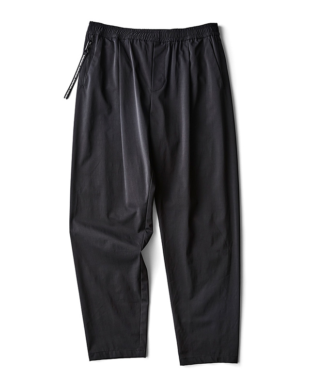 H.I.P. by SOLIDO | LUX NYLON TWILL RELAX FIT EASY PANTS