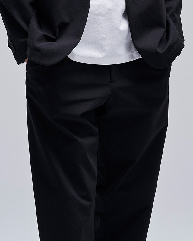 H.I.P. by SOLIDO | LUX NYLON TWILL SLIM FIT TROUSERS