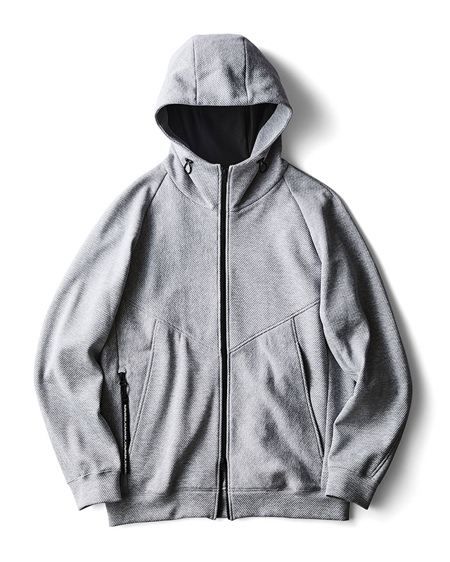 H.I.P. by SOLIDO | DELTA SOLOTEX KERSEY ZIP UP HOODIE