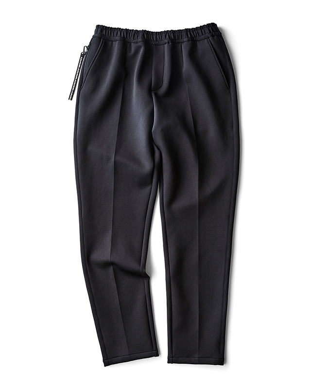 H.I.P. by SOLIDO | LUX CARDBOARD KNIT SLIM FIT EASY TROUSERS