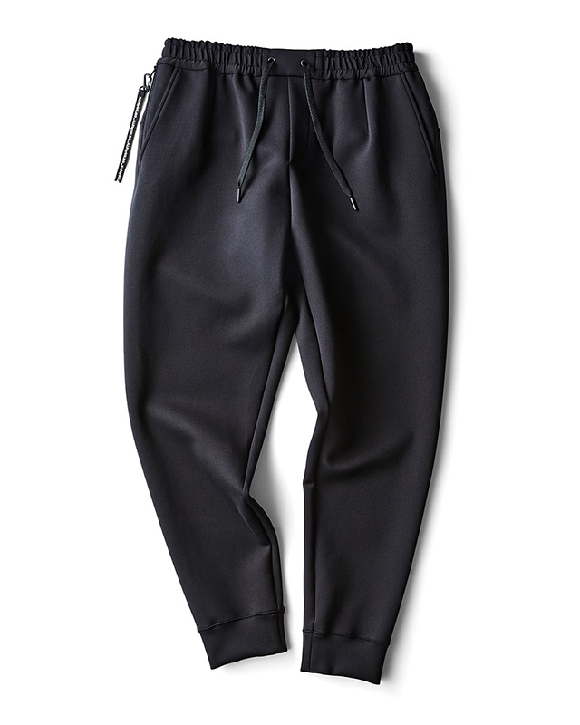 H.I.P. by SOLIDO | LUX CARDBOARD KNIT SLIM FIT EASY PANTS