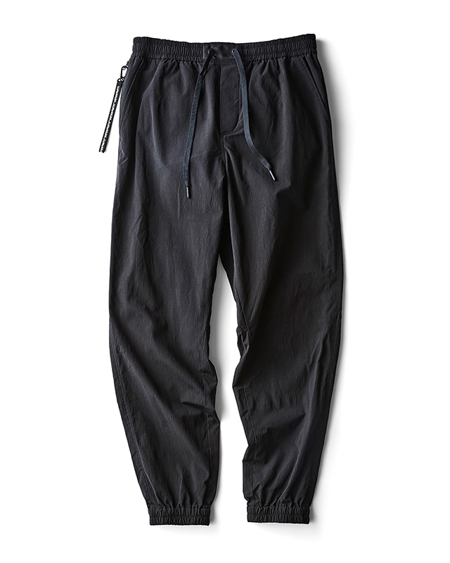 H.I.P. by SOLIDO | NYLON COTTON WASHER CLOTH RELAX FIT EASY PANTS