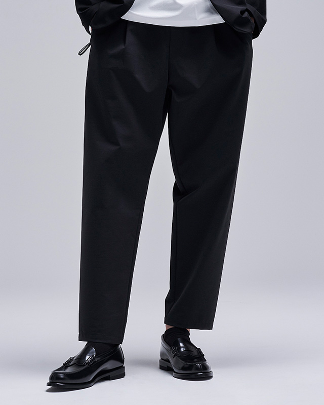 H.I.P. by SOLIDO | DOZUME PONTE FABRIC RELAX FIT EASY PANTS