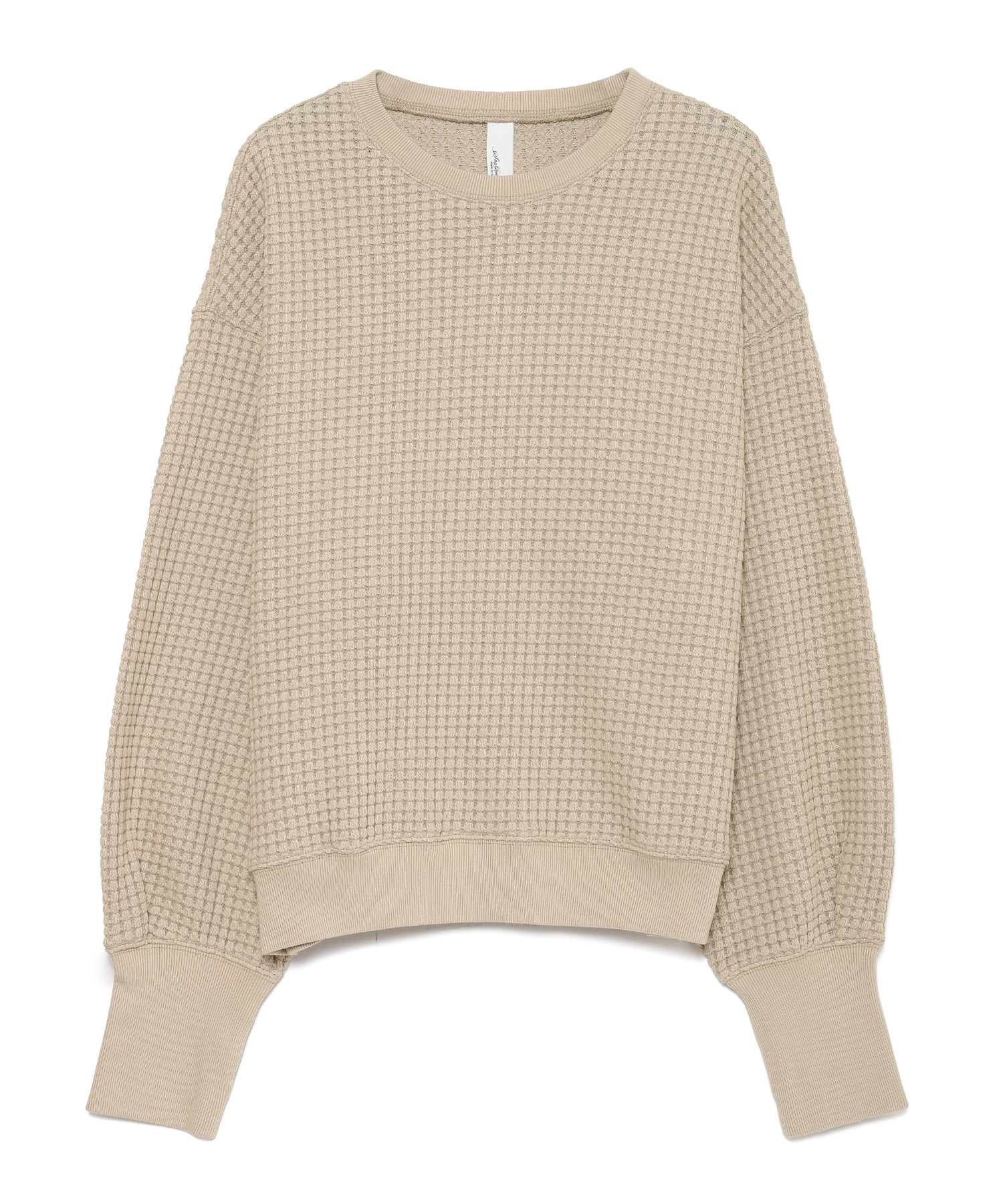 Seagreen BIG WAFFLE pullover