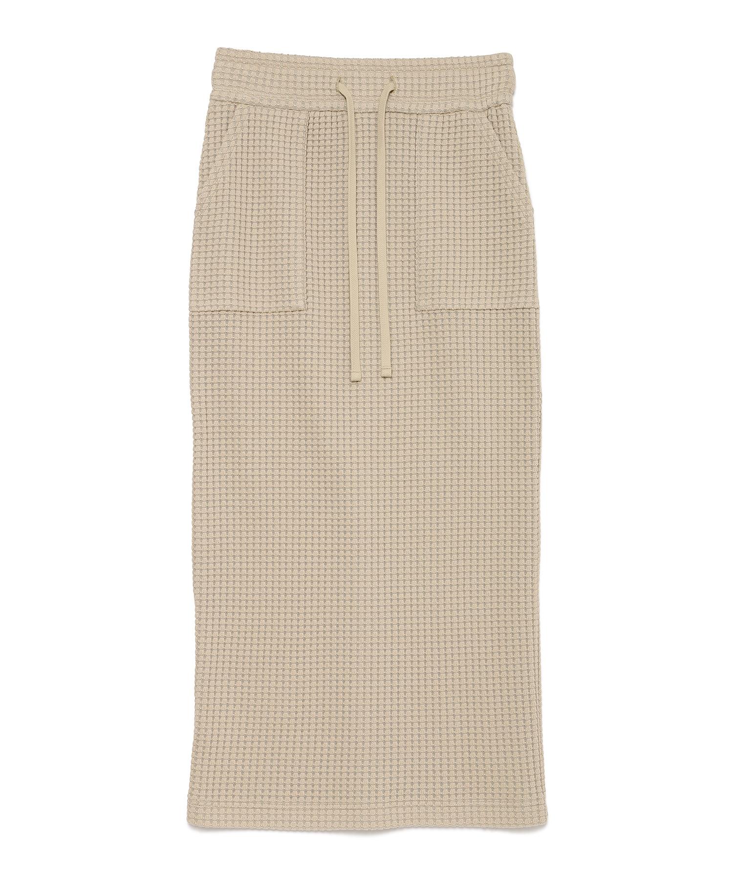 Seagreen BIG WAFFLE skirt